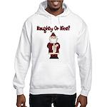 Naughty or Nice Hooded Sweatshirt