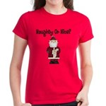 Naughty or Nice Women's Dark T-Shirt