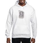 """MONKEY BUSINESS (""""WHATEVER"""")Hooded Sweatshirt"""