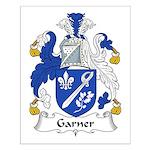 Garner Family Crest Small Poster