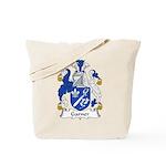 Garner Family Crest Tote Bag