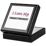 I Love My CHARACTEROLOGIST Keepsake Box