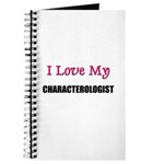 I Love My CHARACTEROLOGIST Journal