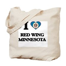 I love Red Wing Minnesota Tote Bag