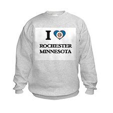 I love Rochester Minnesota Sweatshirt