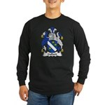 Gallard Family Crest Long Sleeve Dark T-Shirt