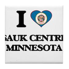 I love Sauk Centre Minnesota Tile Coaster