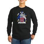 Gaines Family Crest Long Sleeve Dark T-Shirt
