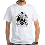 Gadsby Family Crest White T-Shirt