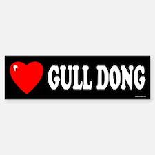 GULL DONG Bumper Bumper Bumper Sticker