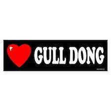 GULL DONG Bumper Bumper Sticker