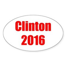 Clinton 2016-Imp red 400 Decal