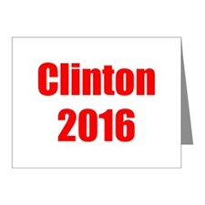 Clinton 2016-Imp red 400 Note Cards