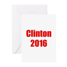 Clinton 2016-Imp red 400 Greeting Cards