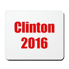 Clinton 2016-Imp red 400 Mousepad