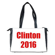 Clinton 2016-Imp red 400 Diaper Bag