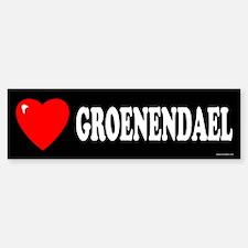 GROENENDAEL Bumper Bumper Bumper Sticker