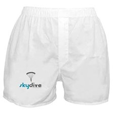 Blue Skydive Boxer Shorts