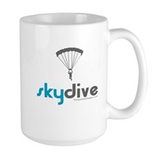 Blue Skydive Mug