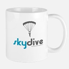 Blue Skydive Small Small Mug