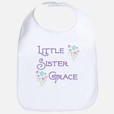 Little Sister Grace Bib