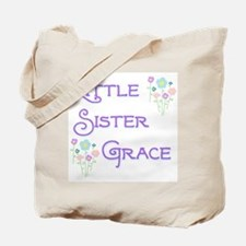 Little Sister Grace Tote Bag