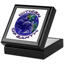 Citizen Of Earth....Keepsake Box