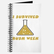 I Survived Rush Week Journal