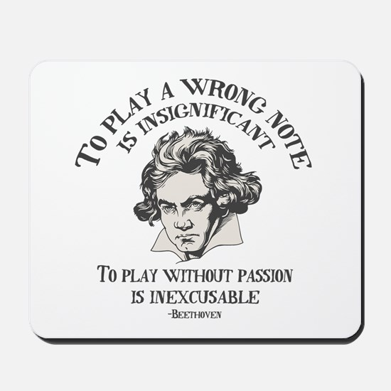 Insignificant v. Inexcusable Mousepad