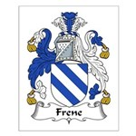 Frene Family Crest Small Poster