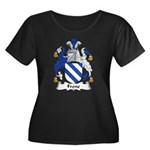 Frene Family Crest Women's Plus Size Scoop Neck Da