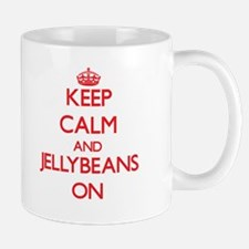 Keep Calm and Jellybeans ON Mugs
