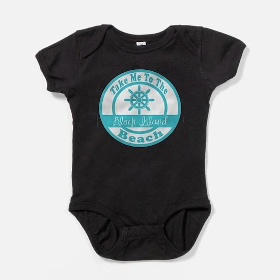 Take Me to Block Island Baby Bodysuit