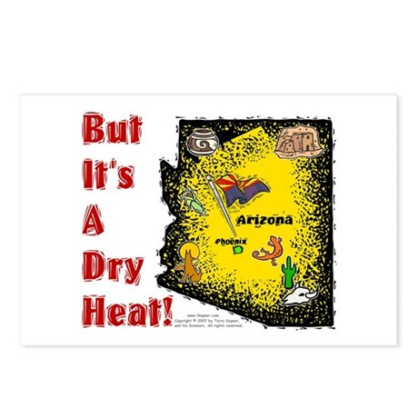 AZ-Dry Heat! Postcards (Package of 8)