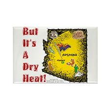 AZ-Dry Heat! Rectangle Magnet (10 pack)