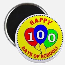 100th Day of School Magnet