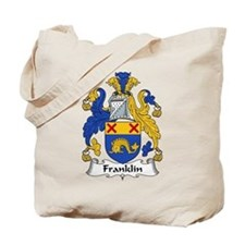 Franklin Family Crest Tote Bag