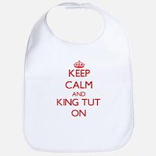 Keep Calm and King Tut ON Bib