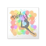 Baton twirling Square