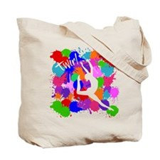 SPLATTER TWIRL (both sides) Tote Bag