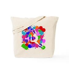 SPLATTER TWIRL (both sides) Tote Bag