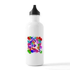 SPLATTER TWIRL Water Bottle