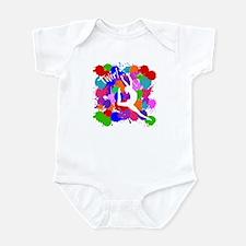SPLATTER TWIRL Infant Bodysuit