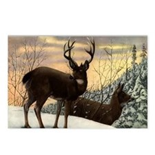 Unique Wiccan christmas Postcards (Package of 8)