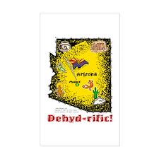 AZ-Dehyd-rific! Rectangle Decal