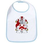 Fox Family Crest Bib