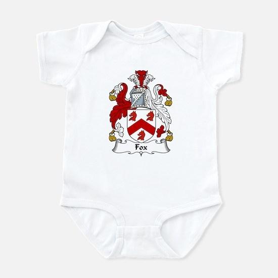 Fox Family Crest Infant Bodysuit