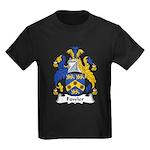Fowler Family Crest Kids Dark T-Shirt