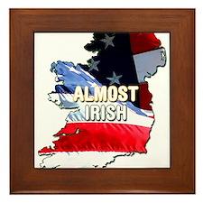 Almost Irish Framed Tile