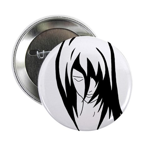 """Emo.Girl.2 2.25"""" Button (100 pack)"""